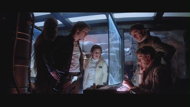 Markas pemberontak mengetahui droid musuh