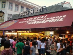 how to go to Bugis Street Singapore