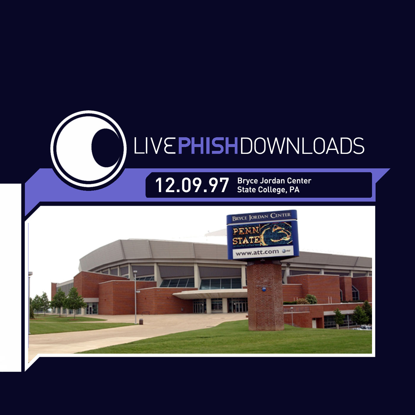 occidental Moderar posición  The Curtain With: Phish - 1997-12-09 Bryce Jordan Center, State College, PA  (Simple)