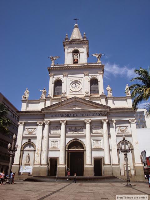 Onde tem Food Trucks em Campinas? Foto: Catedral de Campinas antes da reforma