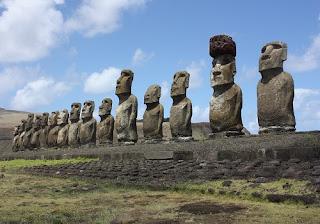 Paskalya Adası ve Moai Heykelleri 15 Gerçek