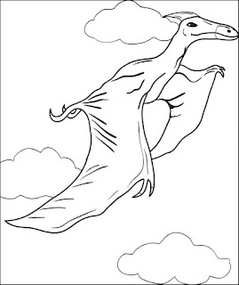 Picture Pterosaurs Coloring Pages