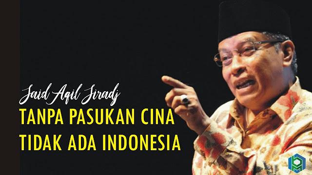 Said Aqil Siradj: Tanpa Pasukan Cina Tidak Ada Indonesia, Ini Jawaban Cerdas Felix Siauw