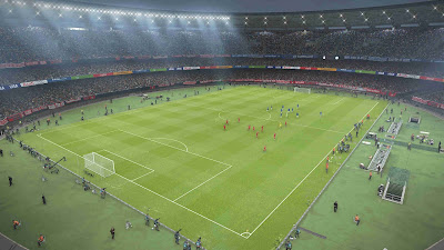 PES 2019 Stadium Boards by Buzzy