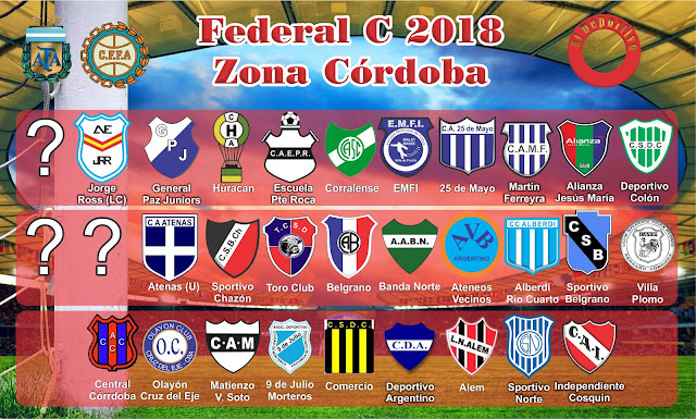 Novedades Federal C 2018