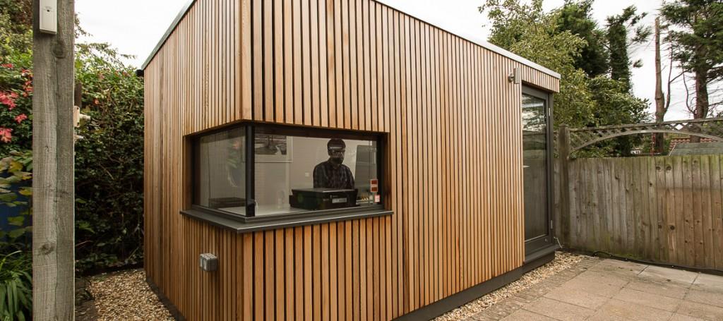 Shedworking: Garden office pod in Brighton