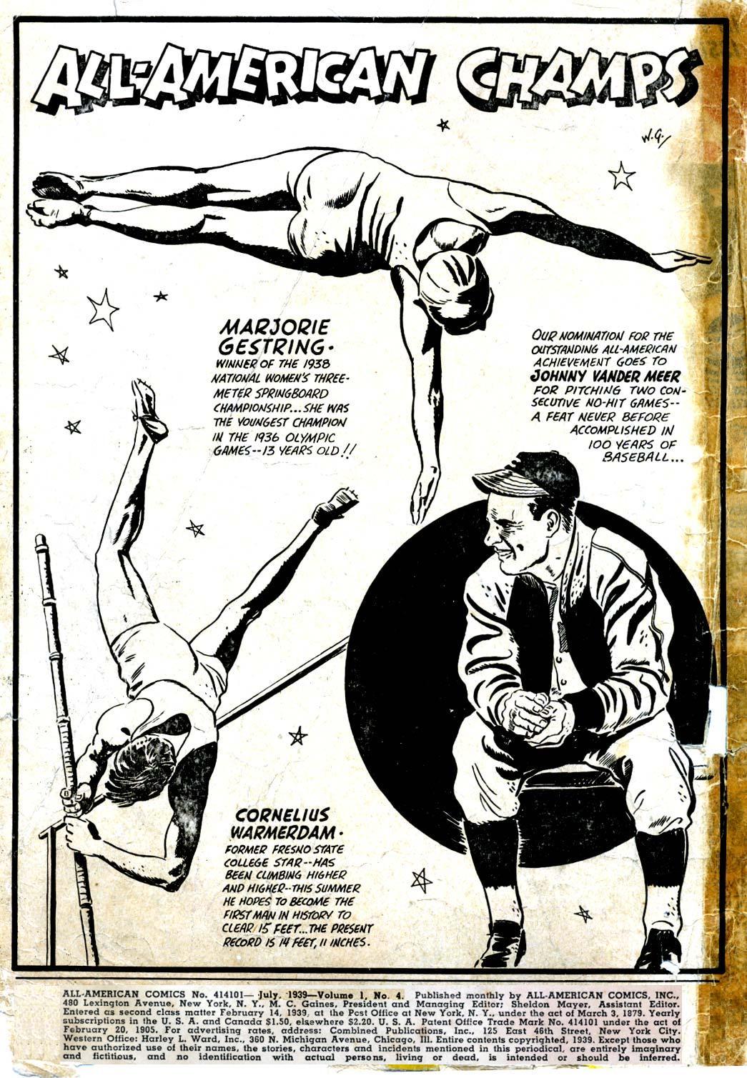 Read online All-American Comics (1939) comic -  Issue #4 - 2