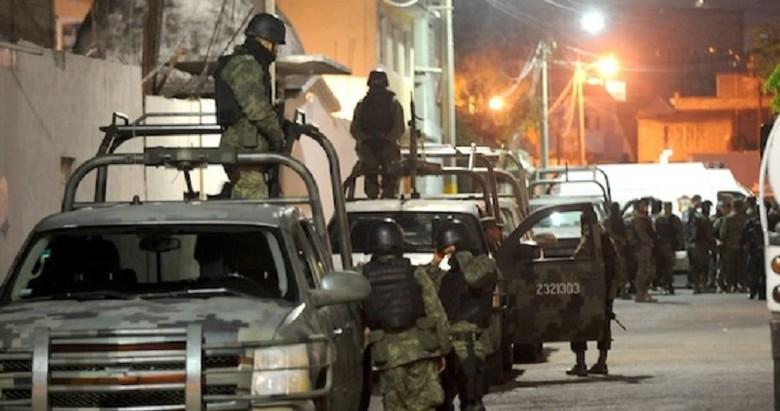 Militares registraron un enfrentamiento con un numeroso grupo de sicarios en Madera