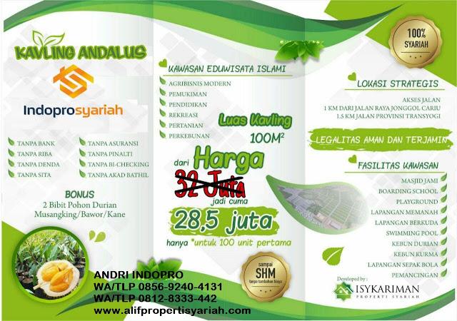 Jual-Tanah-di-Bogor-Kavling-Andalus-Indopro-(Grand-Andalusia-Village)-Cariu-Bogor