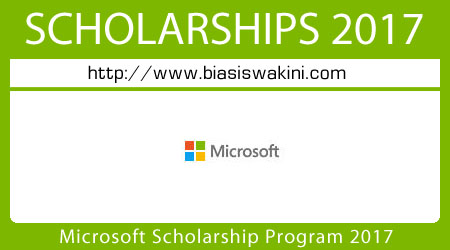 Microsoft Scholarship Program 2017