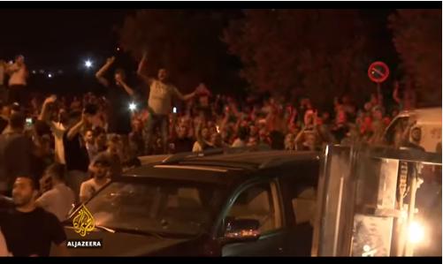 Masya Allah! Bikin Merinding, Gemuruh Takbir Sambut Kekalahan Zionis Israel di Al-Aqsa