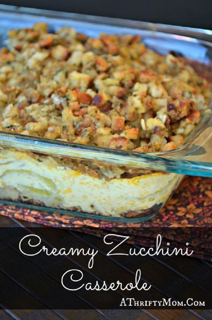 Creamy Zucchini Casserole