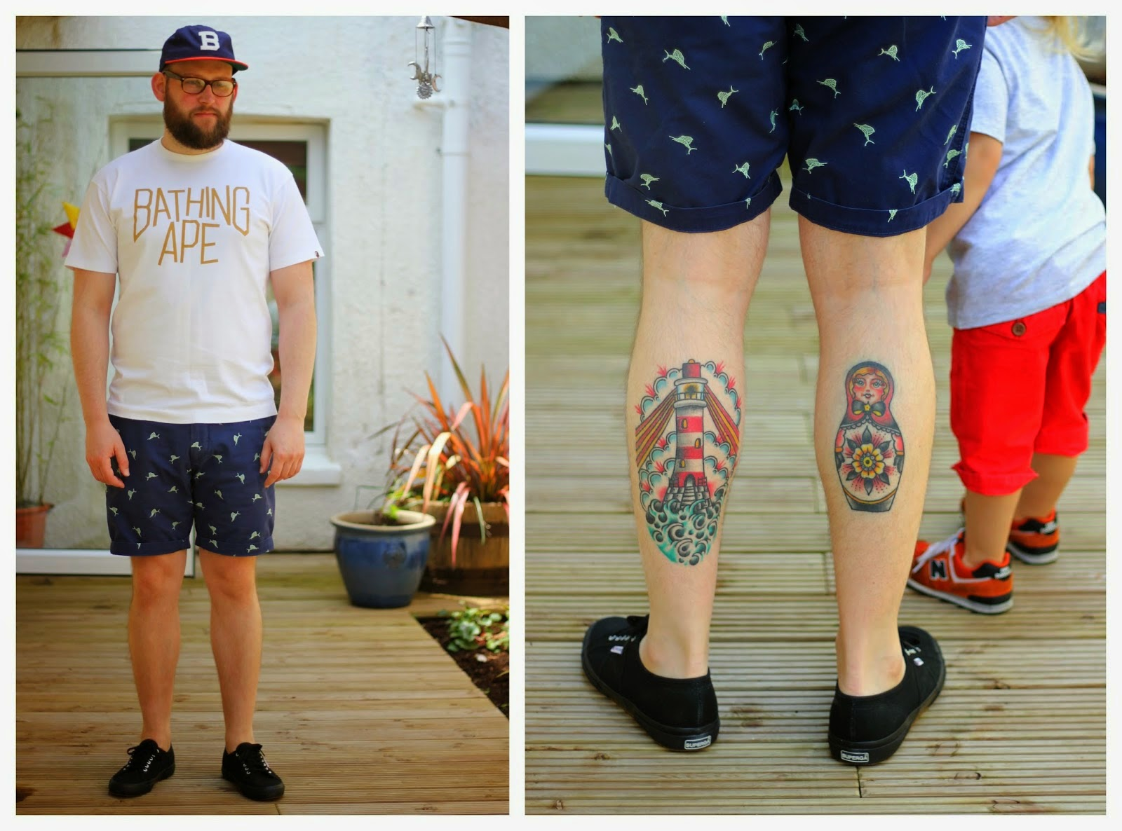 leg tattoos