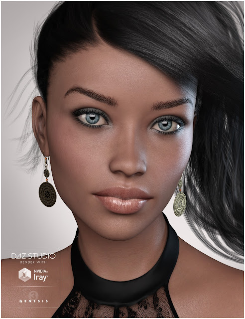 GDN Luna for Genesis 3 Female