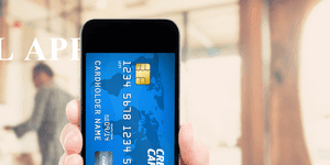 Payment details in a smartphone