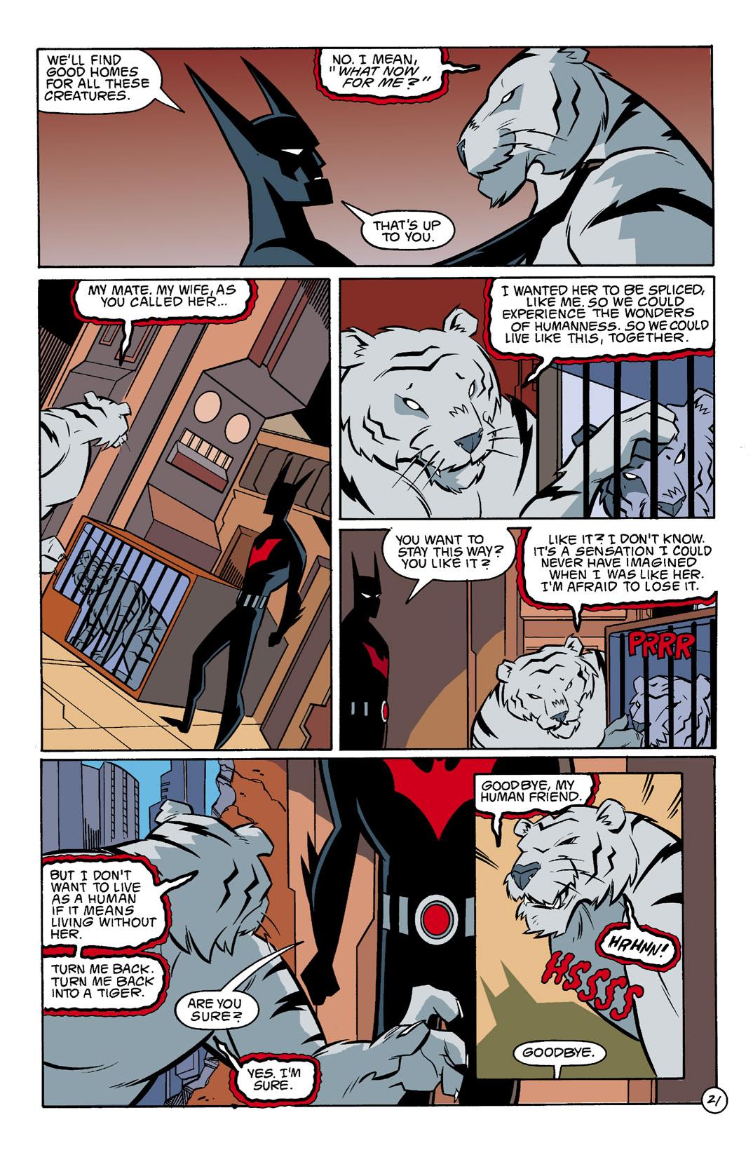 Batman Beyond [II] Issue #3 #3 - English 22
