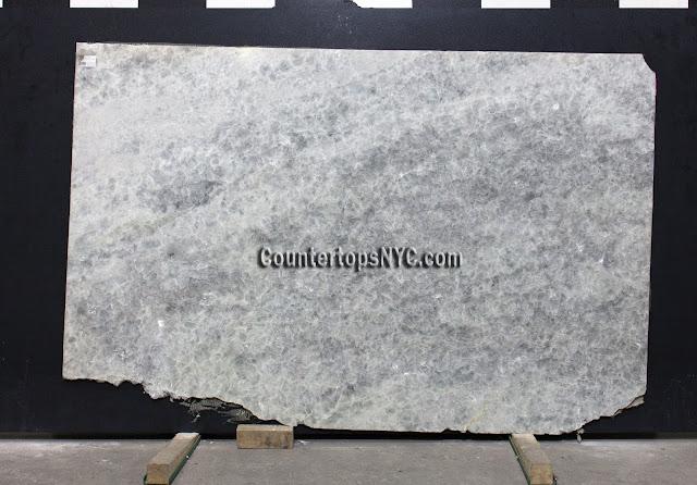 Crystal Grey Marble slab NYC 2cm