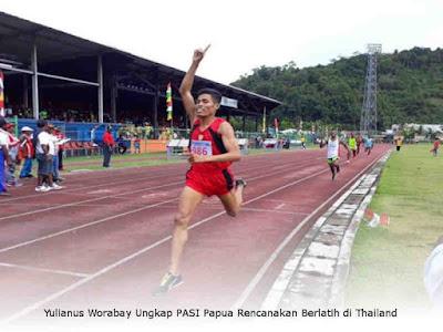 Yulianus Worabay Ungkap PASI Papua Rencanakan Berlatih di Thailand