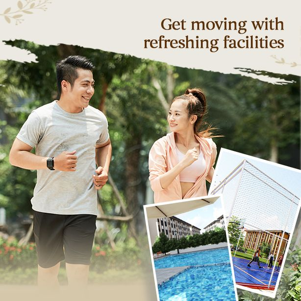 Lumina Homes has outstanding facilities that homeowners will love