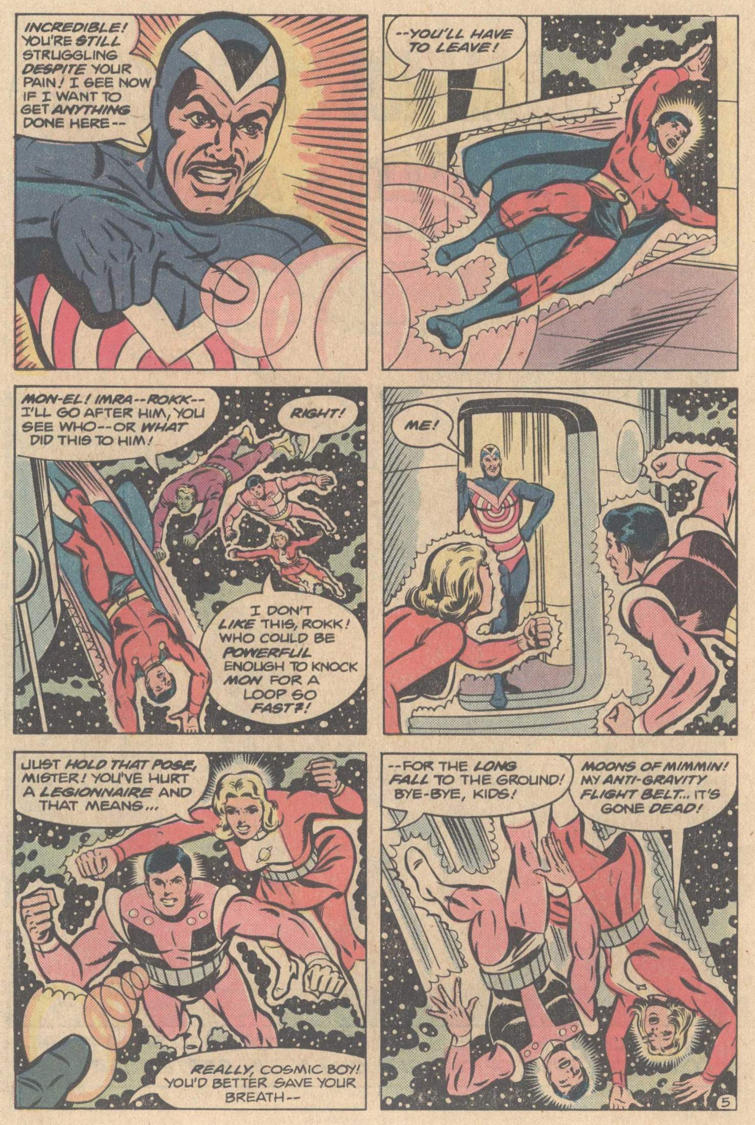 Legion of Super-Heroes (1980) 267 Page 29