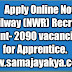 Railway (NWR) recruitment - vacancie 2,090 of Apprentice.