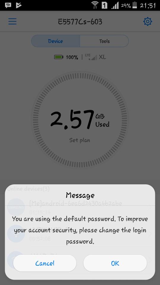 Cara Setting Modem Huawei E5577 : setting, modem, huawei, e5577, Begini, Mengganti, Password, Modem, Huawei, E5577