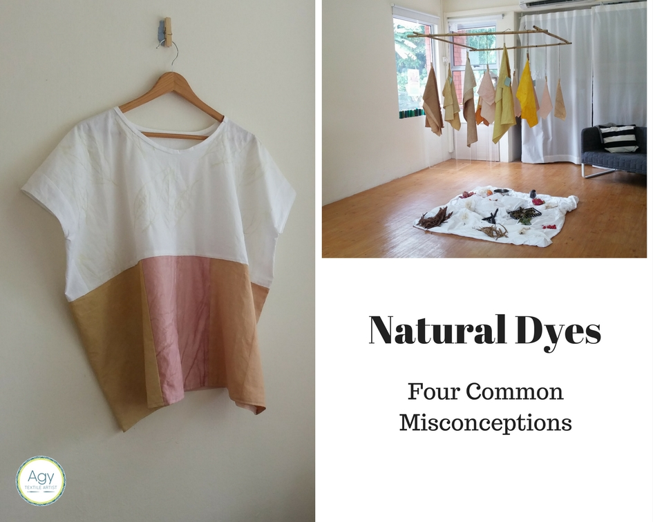 Natural Dyes : Common Misconceptions