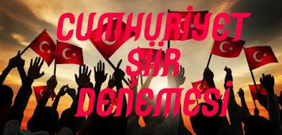 Cumhuriyet Şiir Denemesi - EleştirmenAdam