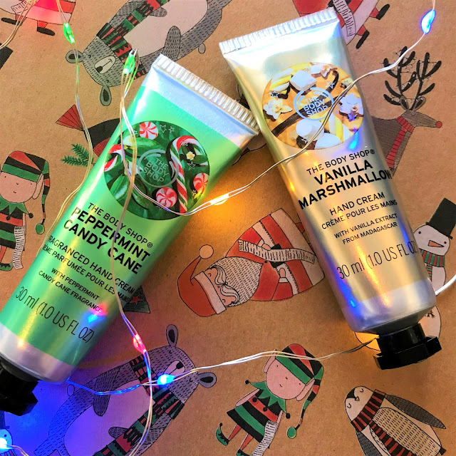 The Body Shop Christmas Hand Creams