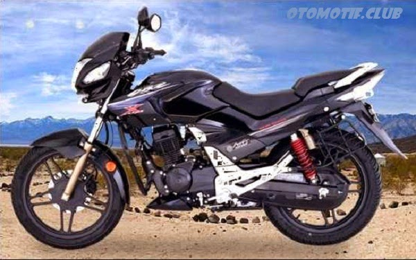 Hero Honda CBZ Xtreme black