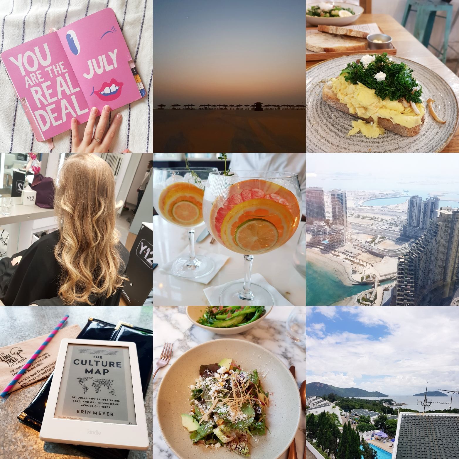 1 welcoming july with my bando planner diary entries included trips to ras al khaimah abu dhabi and hong kong farewell drinks because expatlife and