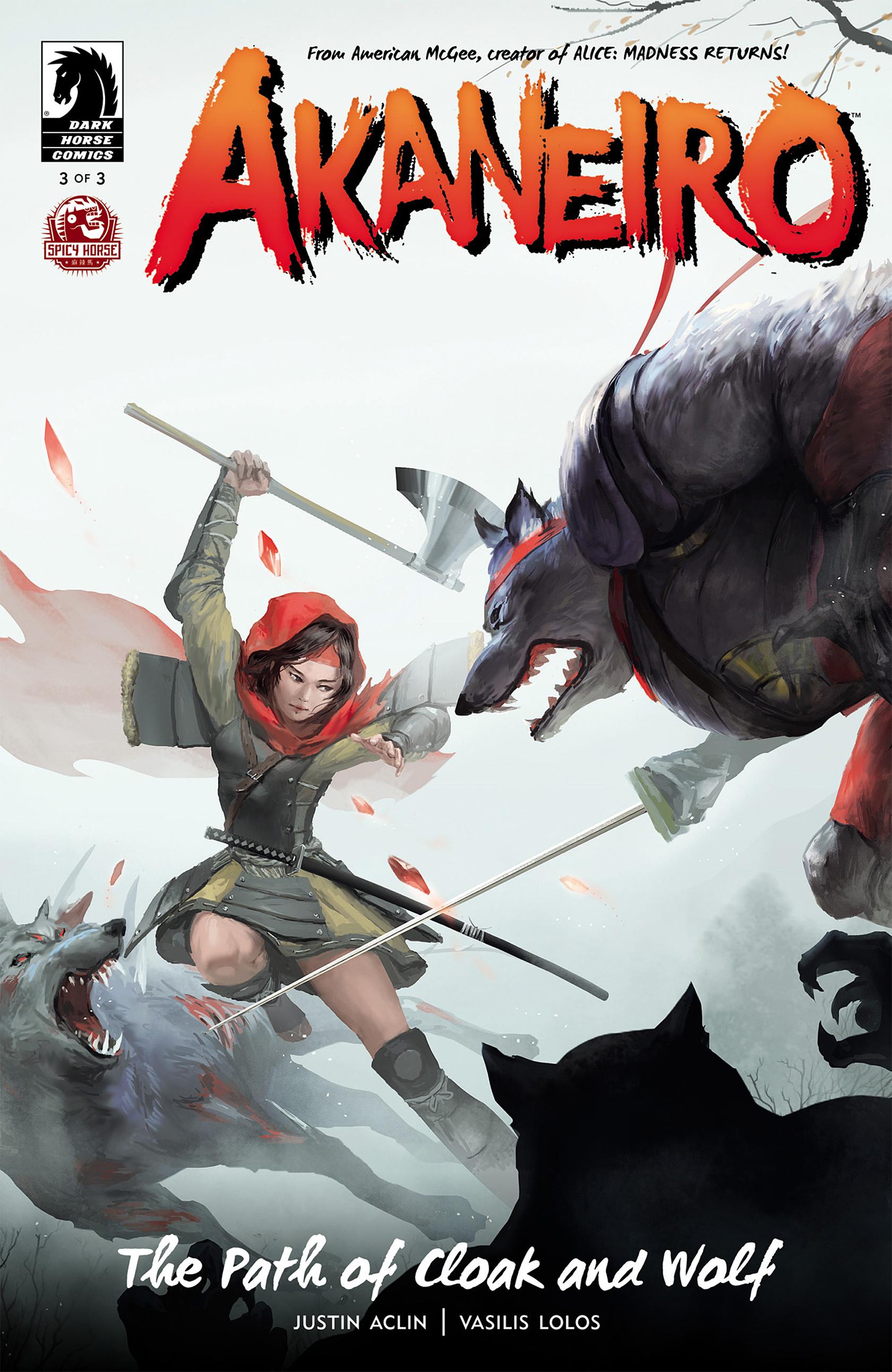 Read online Akaneiro comic -  Issue #3 - 1