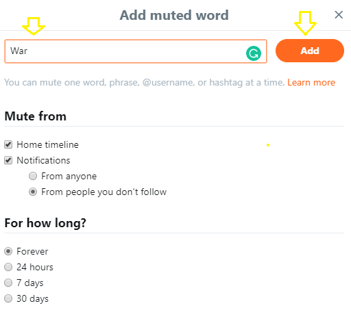 How To Mute Tweets That Contain Particular Words, Phrases, Usernames, Emojis, or Hashtags
