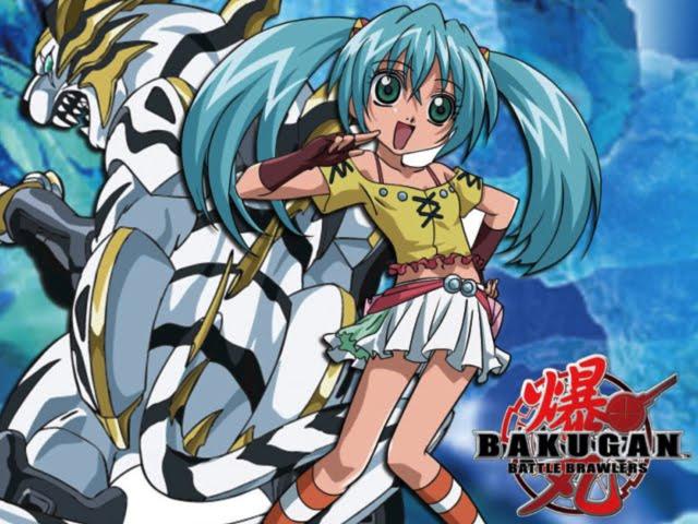 Wallpaper Sakura 3d Runo Bakugan Battle Brawlers