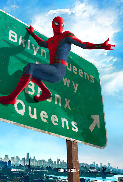 Spider-Man: Homecoming Brooklyn Sign