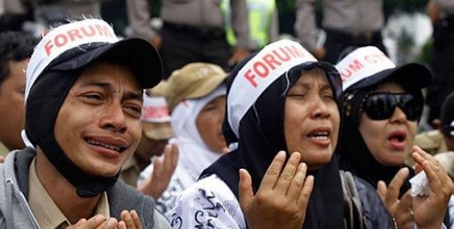 Honorer: PP 49 Bukti Presiden Jokowi Tidak Adil, Isinya Kepentingan Bukan Kebutuhan
