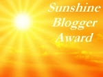 *Sunshine Blogger Award*