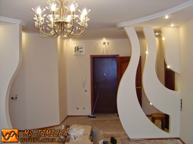 Plafond platre marocain 2015 platre for Decoration platre salon moderne
