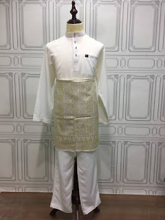 baju melayu online putih 2018