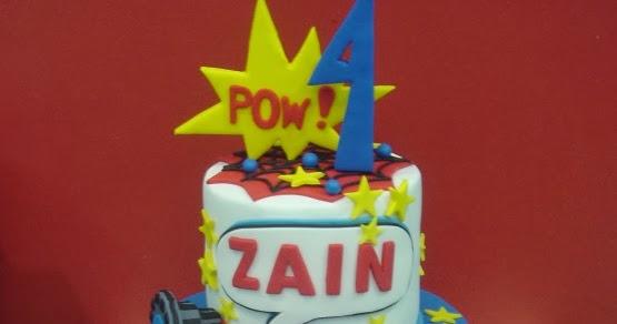 Yochanas Cake Delight Zain Turns 4