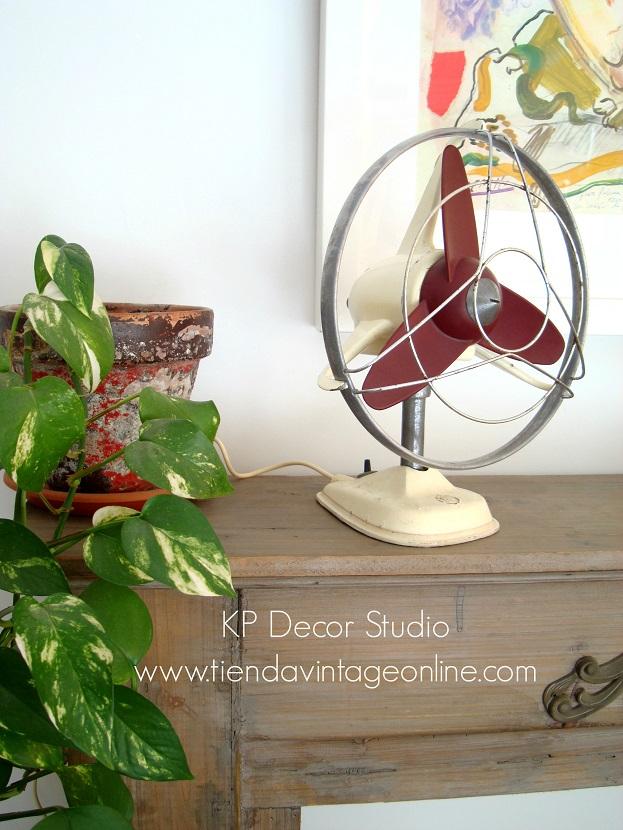 Comprar ventilador antiguo en buen estado y funcionando