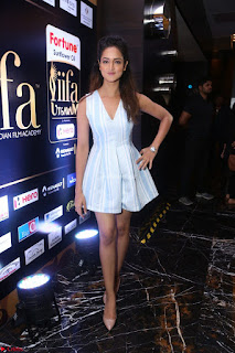 Shanvi Looks super cute in Small Mini Dress at IIFA Utsavam Awards press meet 27th March 2017 119.JPG