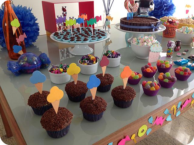 Decoração: Festa Mundo dos Doces