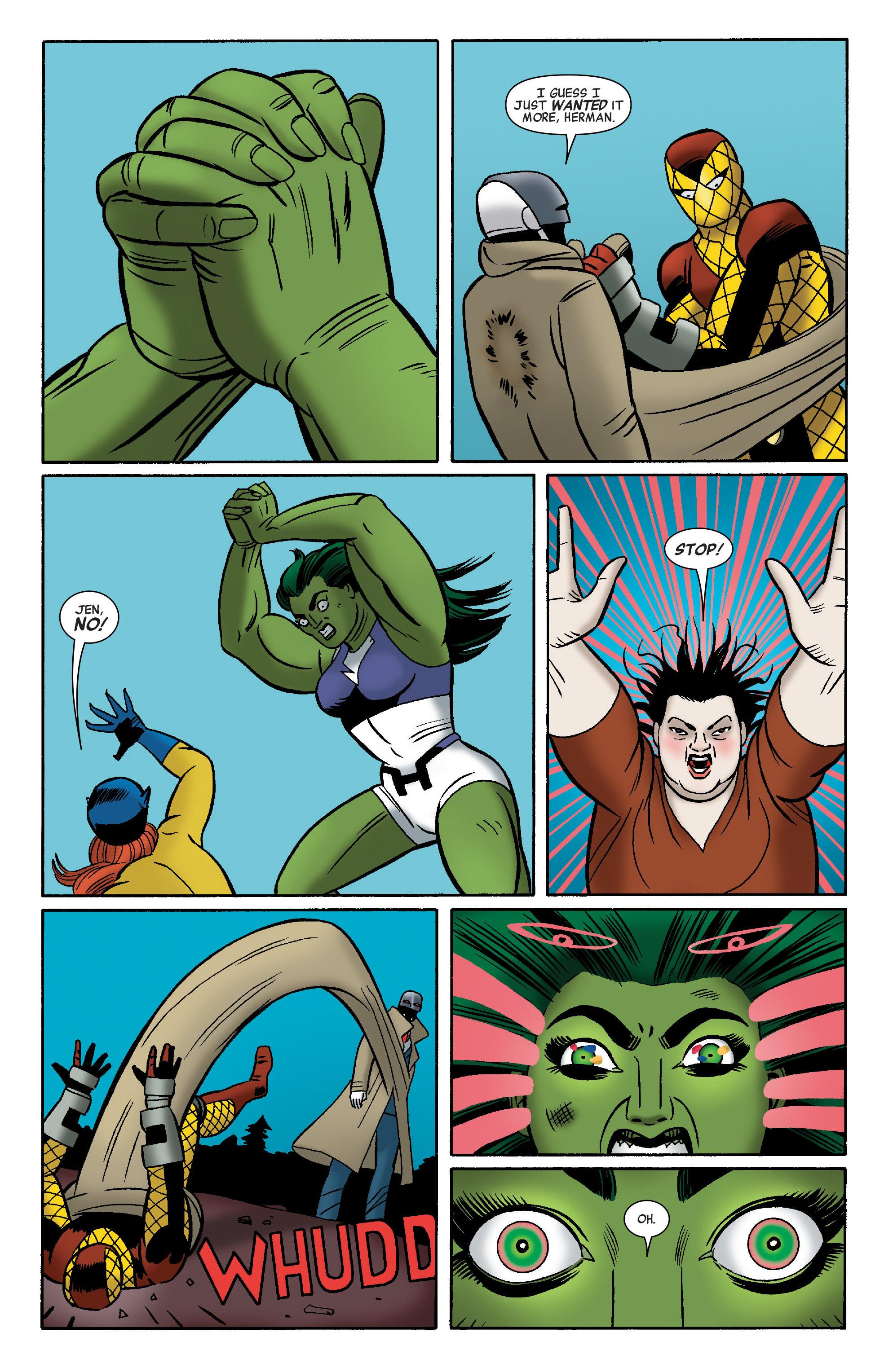 Read online She-Hulk (2014) comic -  Issue #12 - 15