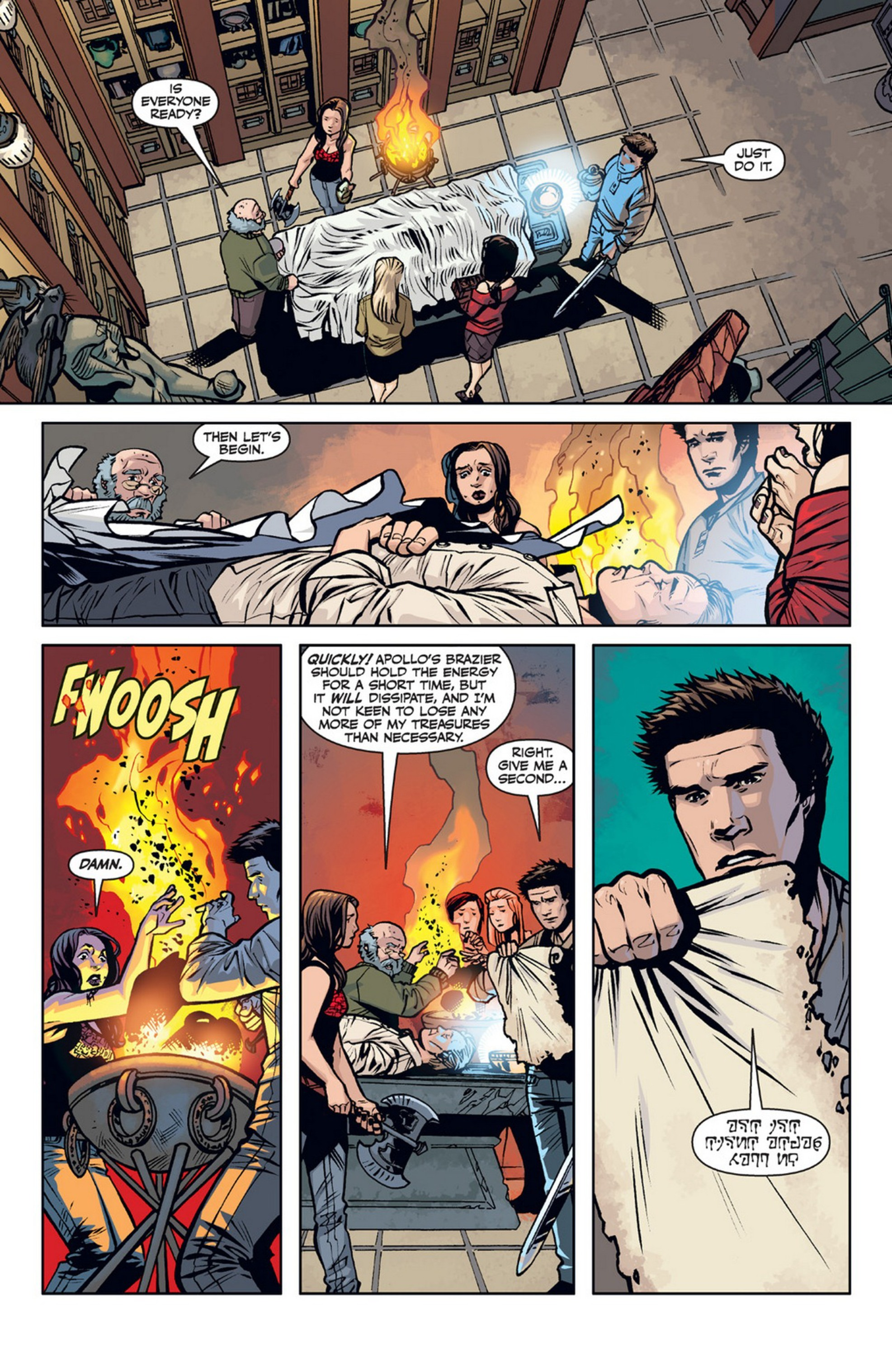 Read online Angel and Faith comic -  Issue #21 - 17