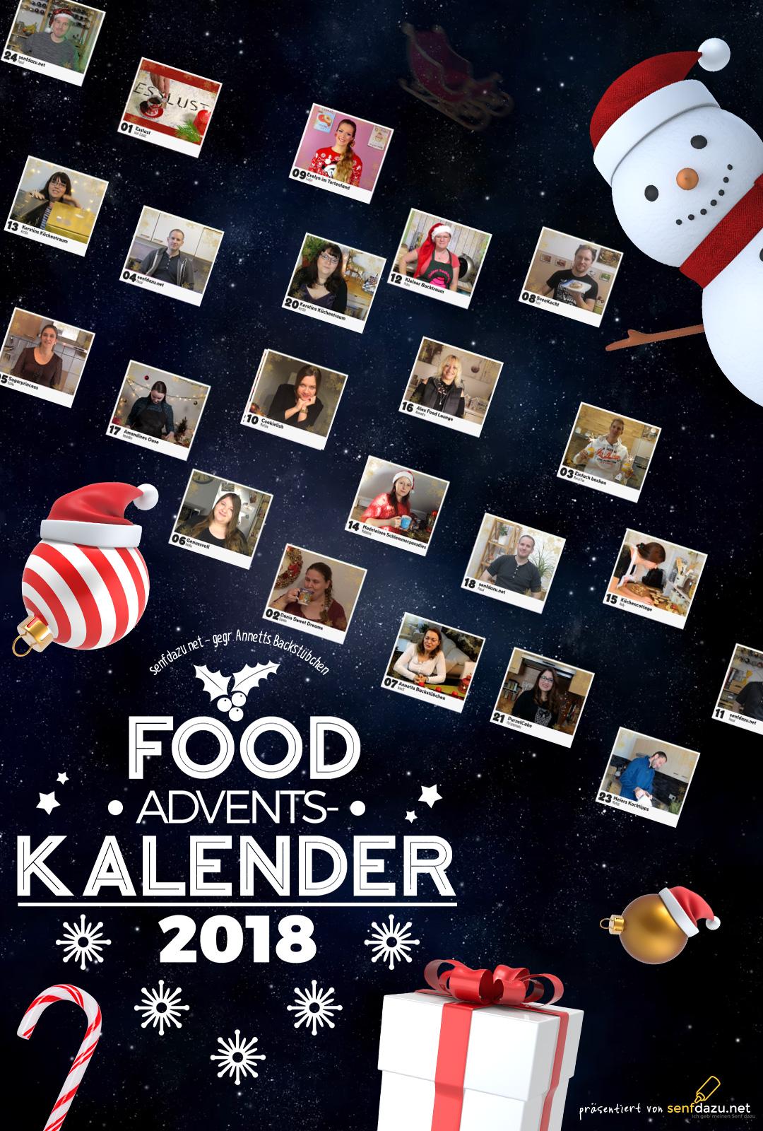Food-Adventskalender 2018