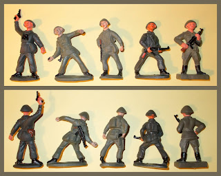 80mm Figures; 80mm East Germans; 80mm Toy Soldiers; PGH Effelder's 80mm Troops; PGH Effelder's East German Infantry; PGH Effelder's East German Toy Soldiers; PGH Effelder's Soviet Era Infantry; PGH Effelder's Soviet East Germans; Effelder Toy Soldiers; Small Scale World; smallscaleworld.blogspot.com; Vintage Plastic Figures; Vintage Plastic Soldiers; Vintage Plastic Toys; Vintage East Germans Infantry; Vintage Toy Figures; Vintage Toy Soldiers; Cold War Plastic Toy Figures; Cold War East German Infantry; Cold War Toy Soldiers; Volks Armie, VA, Ost Deutch Volks Armie, Ost Deutch VA, Warsaw Pact, WP Toy Soldiers