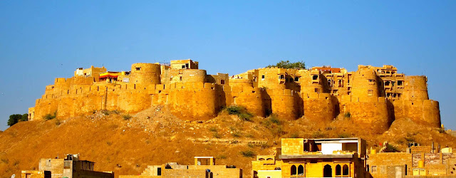 view-of-jaisalmer-fort, heritageofindia, Indian Heritage, World Heritage Sites in India, Heritage of India, Heritage India