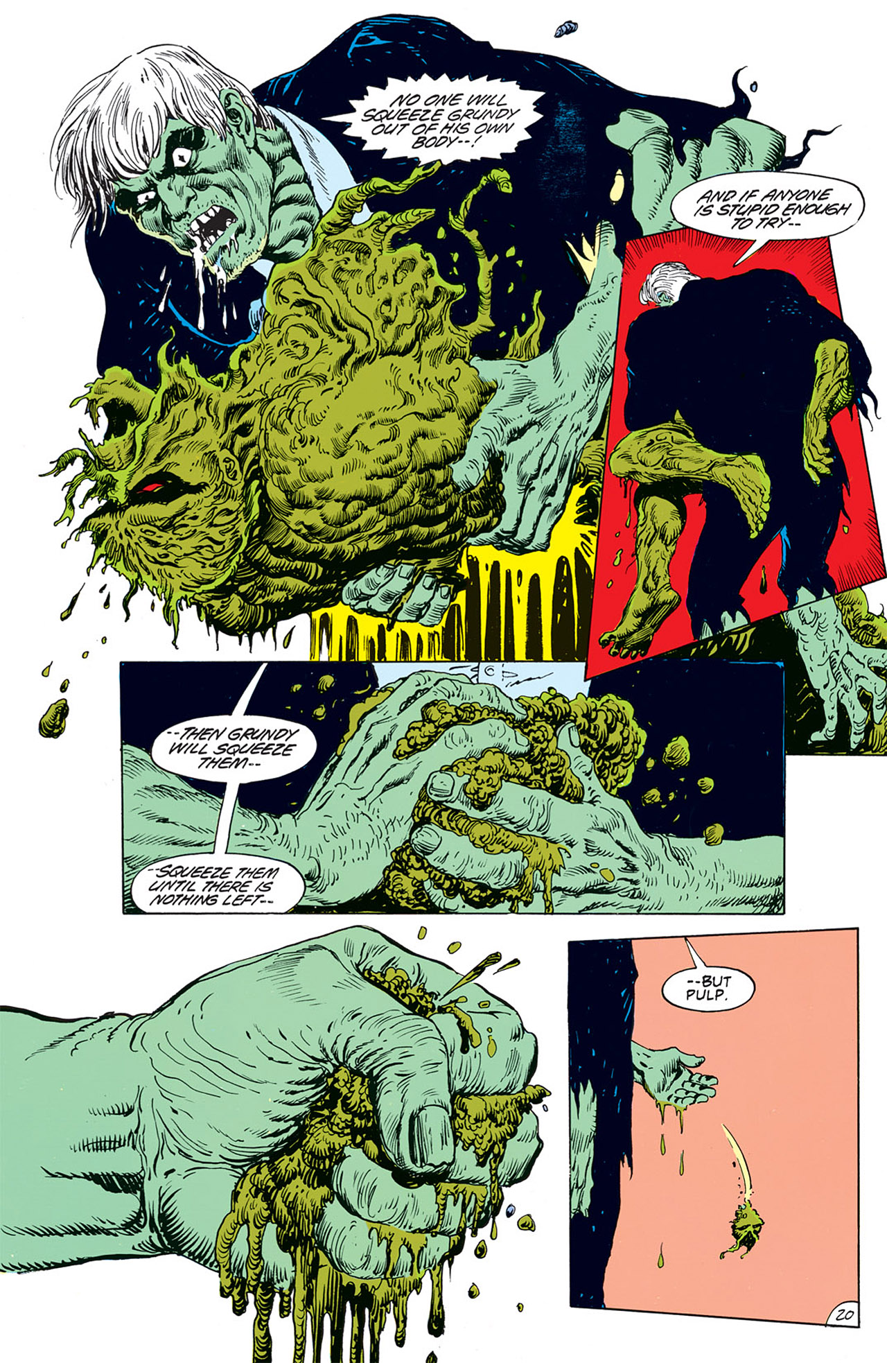 Swamp Thing (1982) Issue #67 #75 - English 22