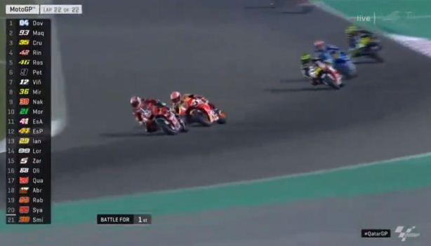 Video Full Race MotoGP Qatar 2019